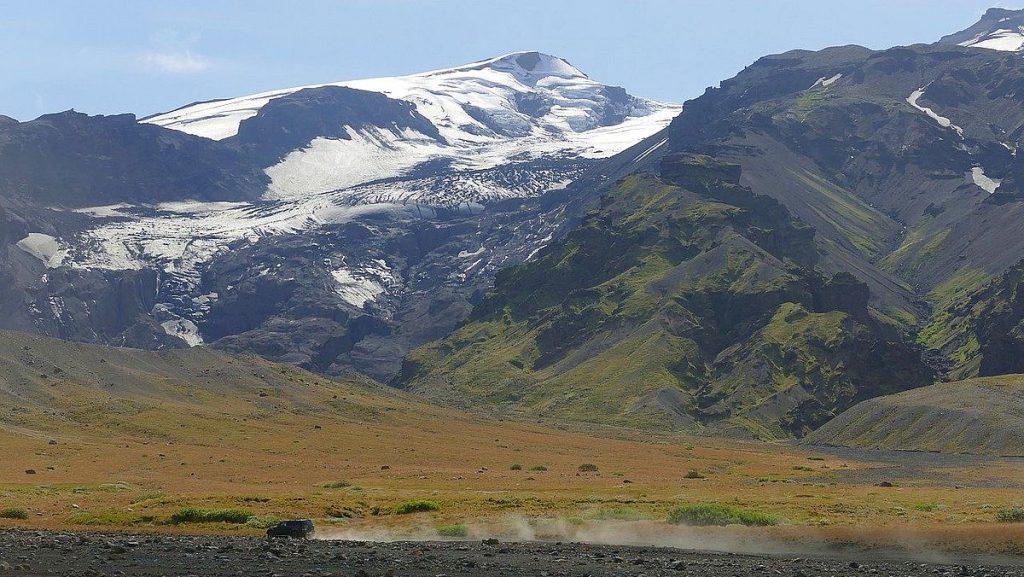 Vulkaner på Island: Eyjafjallajökull