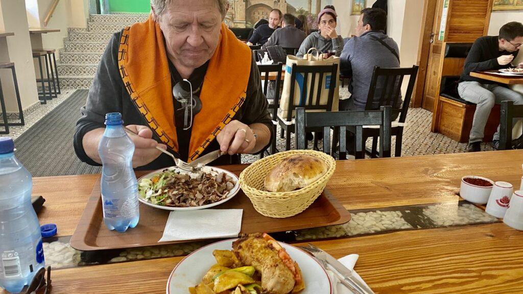 Restauranger i Prag - kebabställe