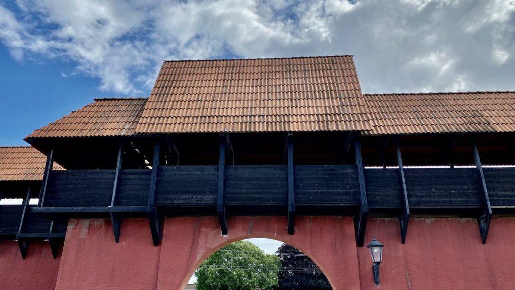 Jakriborg - stadsmur