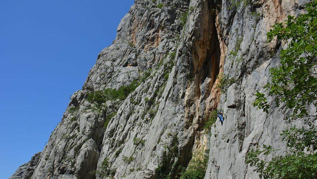 Paklenica klättrare