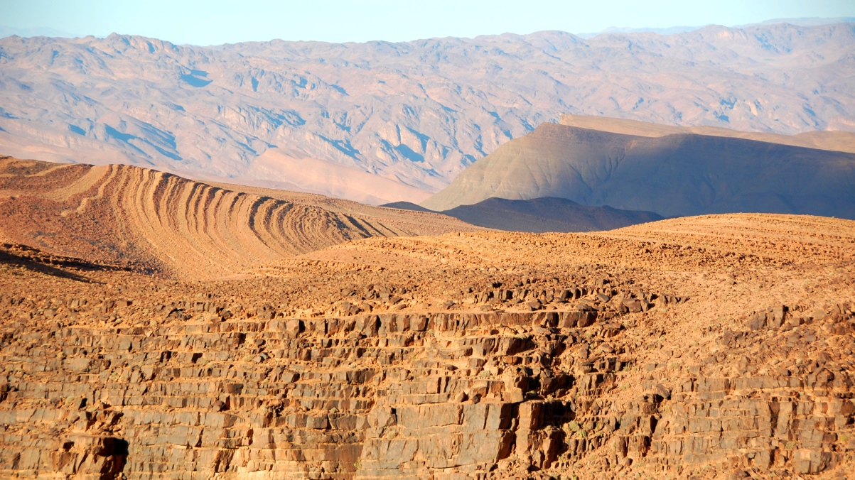 landskap Marocko