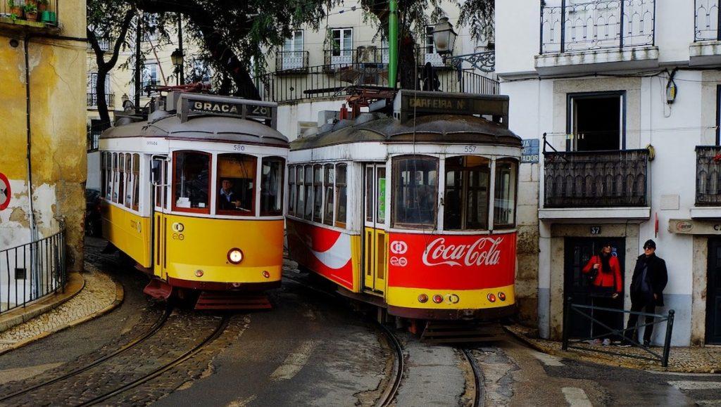 Spårvagnar i Lissabon