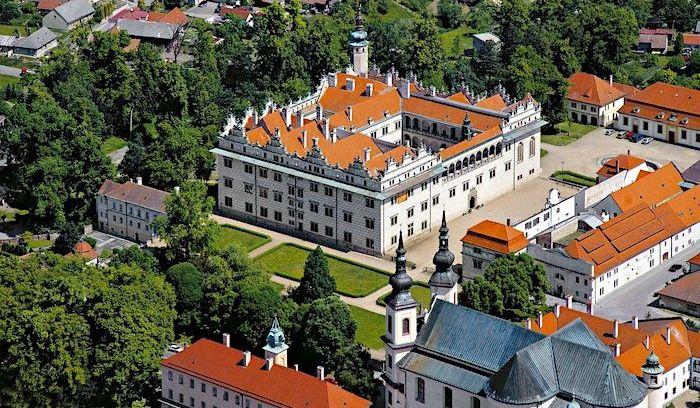 Borgar och slott i Tjeckien