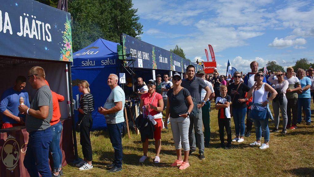 Matstånd på Rally Estonia i tartu