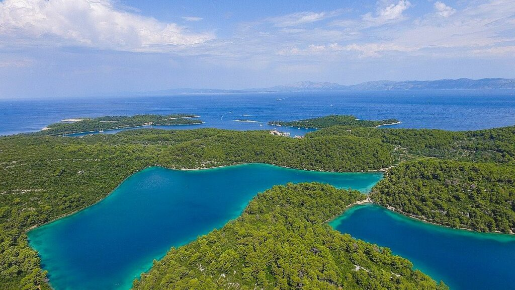 Nationalpark i Kroatien - Mljet