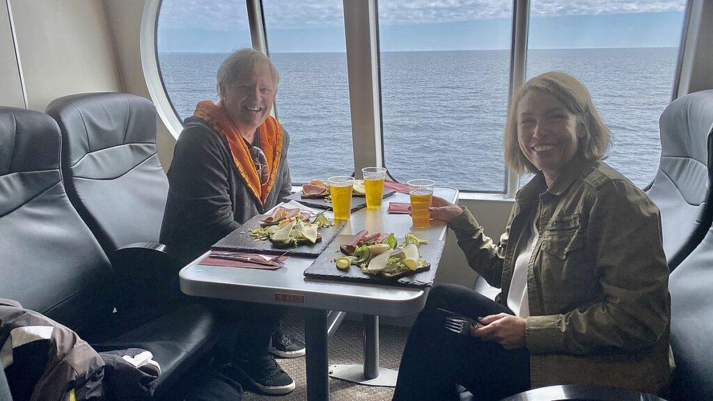 Ombord på FRS Baltic