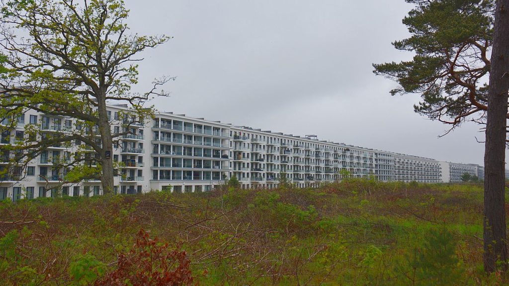 Prora på ön Rügen