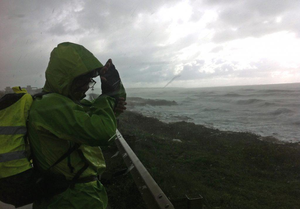 Fångad av en stormvind på väg mot Ragusa