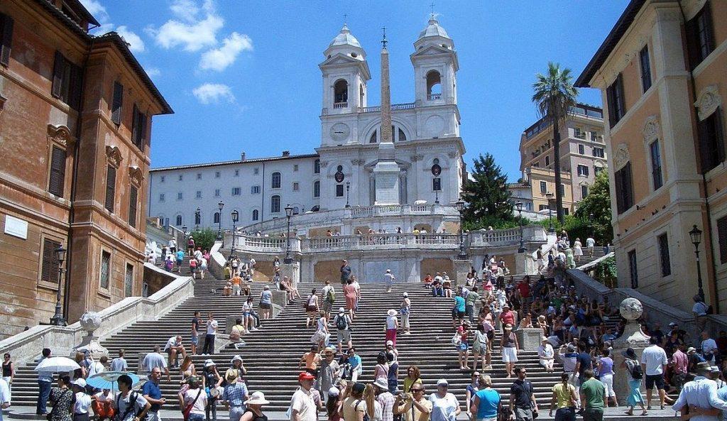 Göra i Rom - besöka Spanska trappan