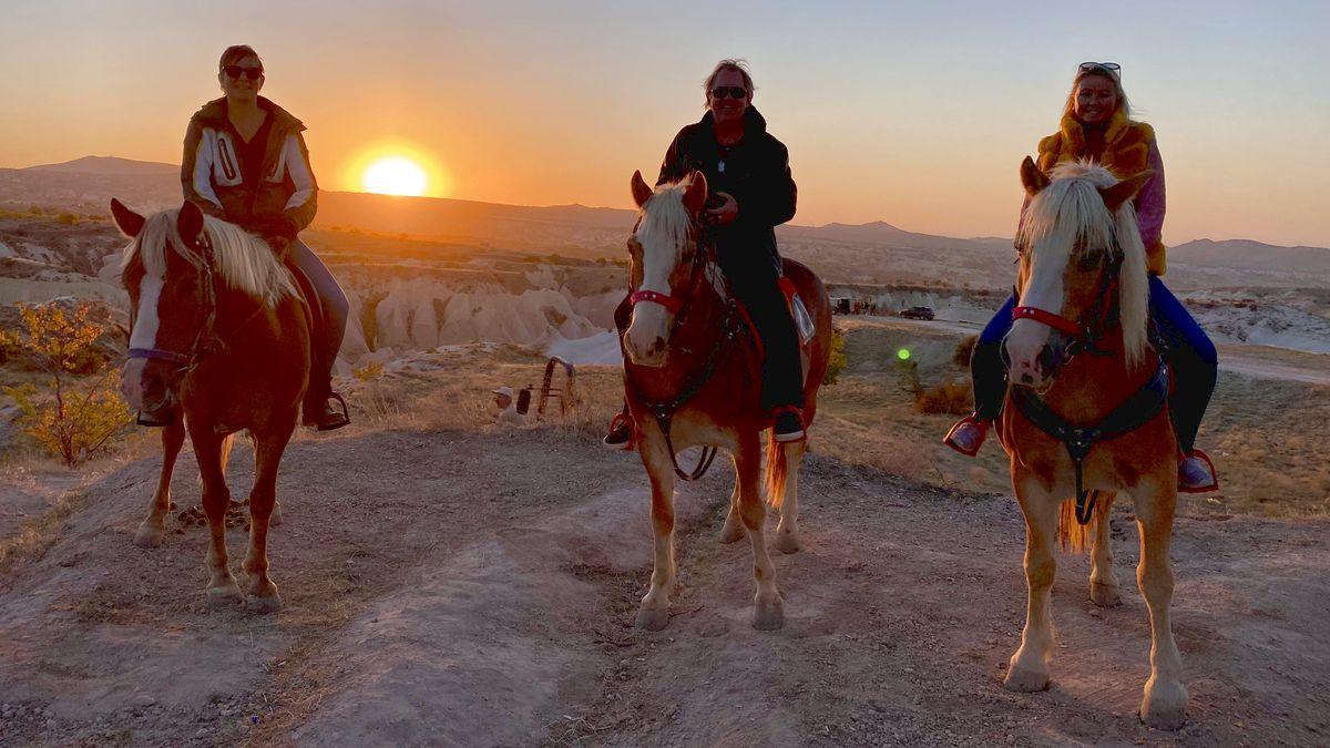 Hästridning i Kappadokien