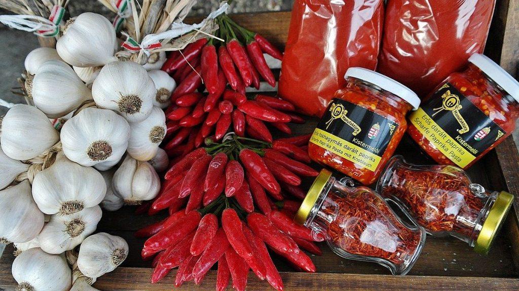kryddor i det ungerska köket