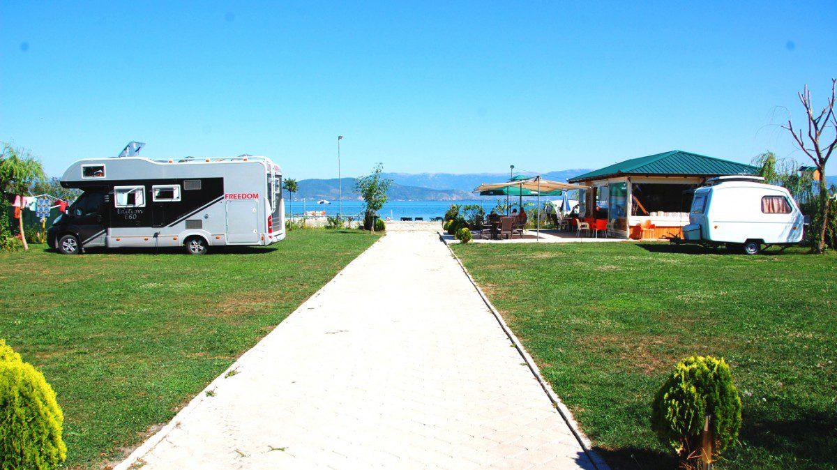 Ställplatser i Balkan