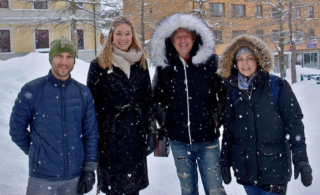 resebloggare i Östersund