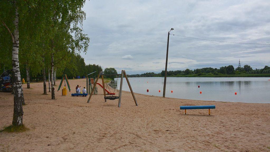 Göra i Tartu? Bada på stranden