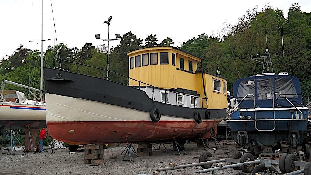 Husbåten förr