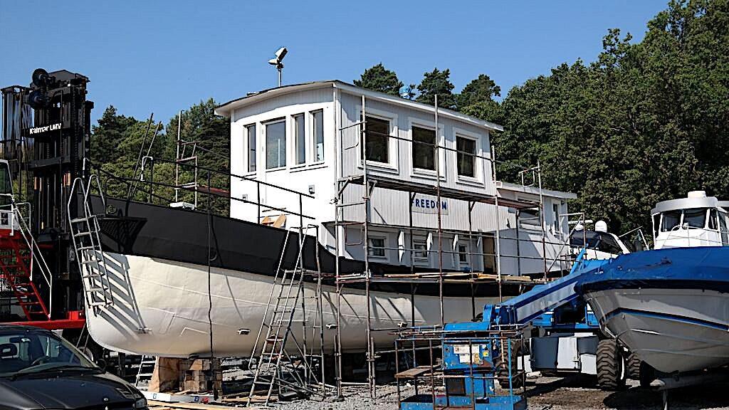 Husbåten nu