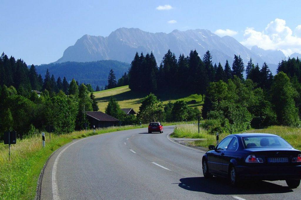 vackra vägar i Tyskland
