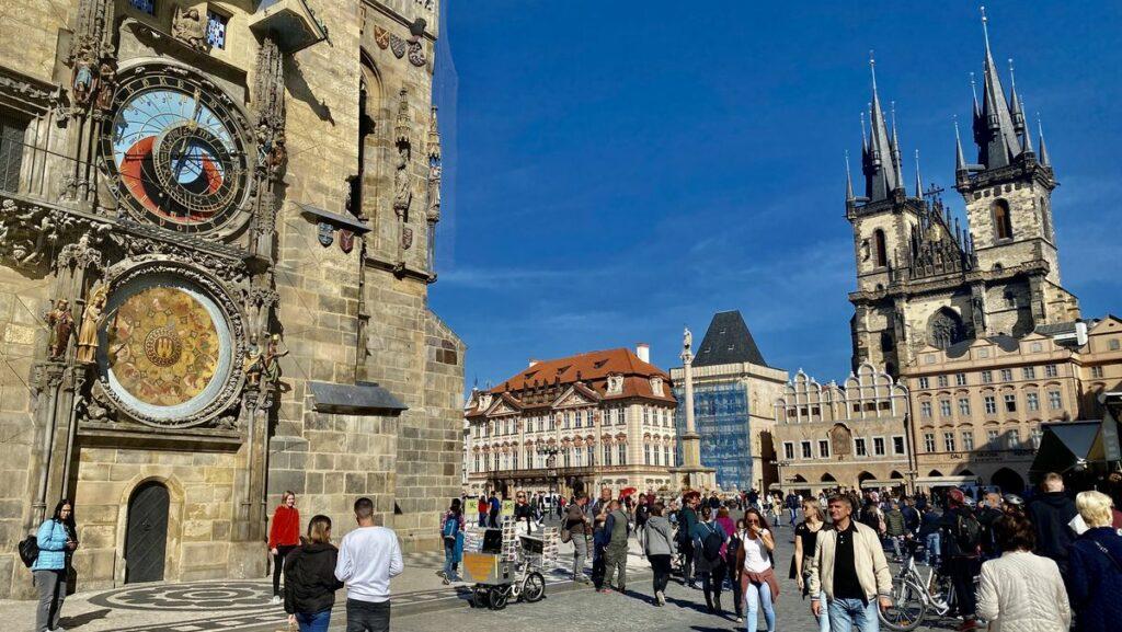 Göra i Prag - astronomiska uret
