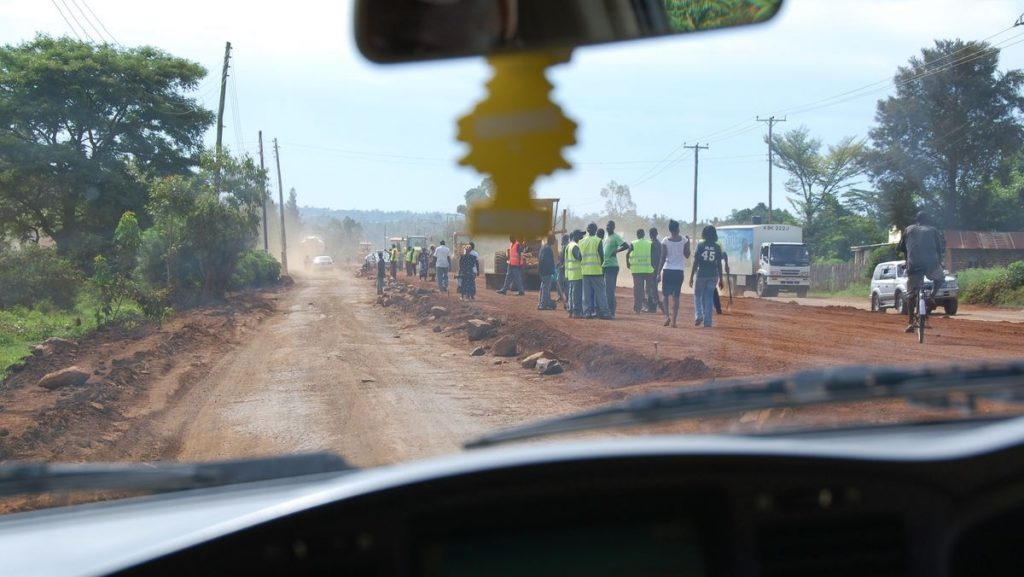 Kenya vägar
