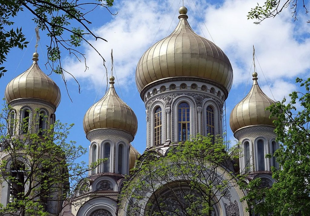 Ortodox kyrka i Vilnius