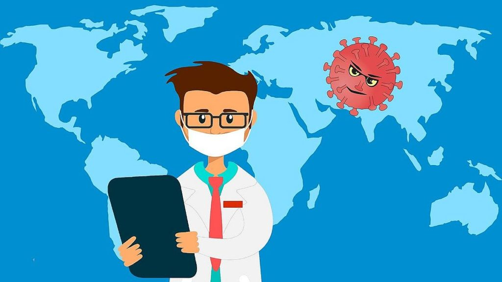 Covid-19 Coronavirusets spridning
