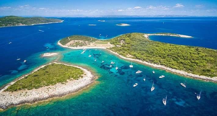 Åka på seglingsresa i Kroatien