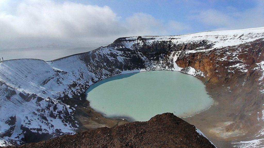 Vulkaner på Island: Askja