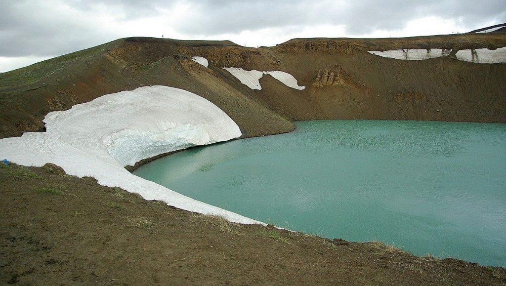 Vulkaner på Island: Krafla